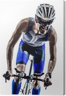 Canvas Man triathlon iron man atleet fietsers fietsen