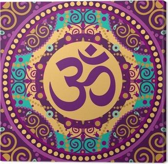 Canvas Mandala ohm