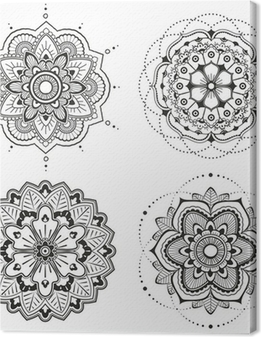 Canvas Mandala set