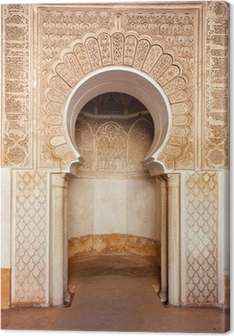 Canvas Marrakech madrasah ornament