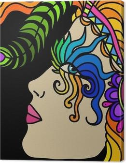 Canvas Masker van Carnaval