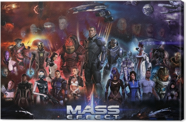 Canvas Mass Effect - Thema's