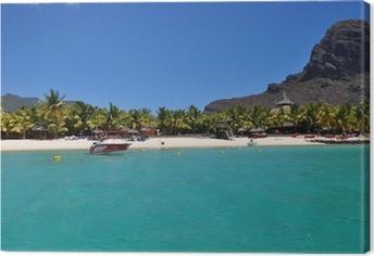 Canvas Mauritius Le Morne