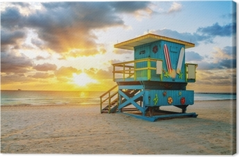 Canvas Miami South Beach zonsopgang