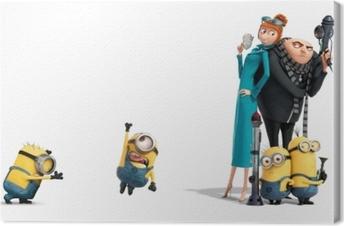 Canvas Minions, Lucy & Gru