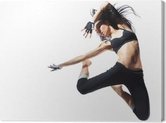 Canvas Moderne stijl danser