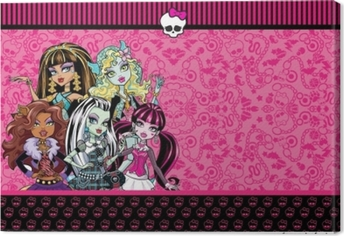 Canvas Monster High