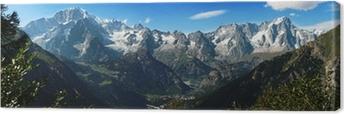Canvas Monte Bianco