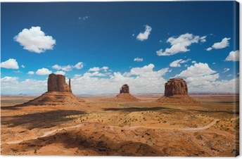 Canvas Monument Valley