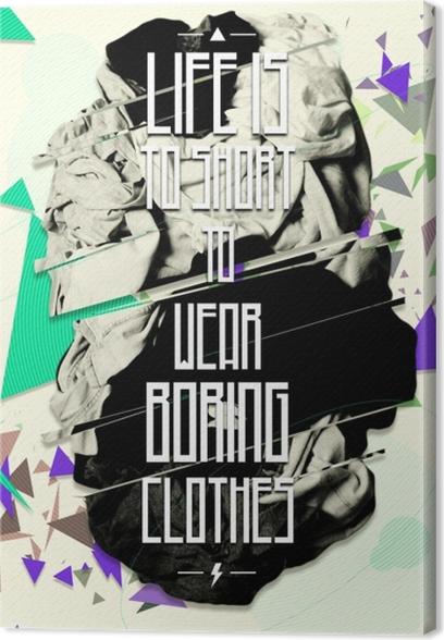 Canvas Motivatie Poster -