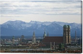 Canvas München panorama