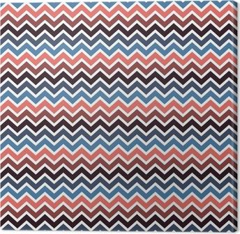 Canvas Naadloos chevron patroon.
