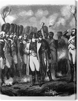 Canvas Napoleon Bonaparte - Begin 19e