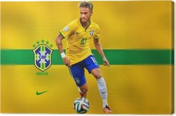 Canvas Neymar