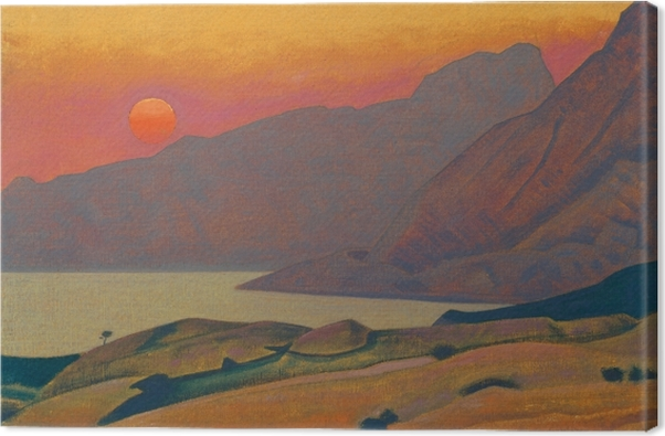 Canvas Nikolaj Konstantinovič Rerich - Monhegan. Maine - Nicholas Roerich