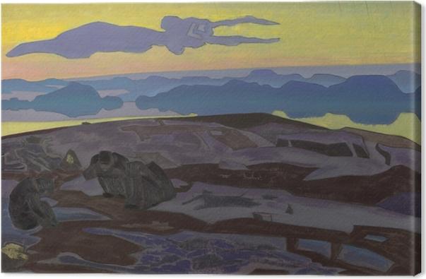 Canvas Nikolaj Konstantinovič Rerich - Verdikt - Nicholas Roerich