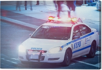 Canvas NYPD Polizeiauto