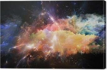 Canvas Opkomst van Space