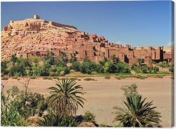 Canvas Ouarzazate Marocco città ingesteld del film Il Gladiatore