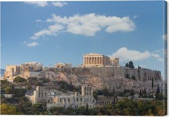Canvas Parthenon, Akropolis - Athene, Griekenland
