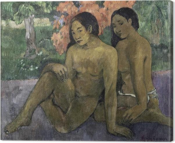 Canvas Paul Gauguin - En het goud van hun lichamen - Reproducties