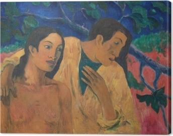 Canvas Paul Gauguin - Vlucht