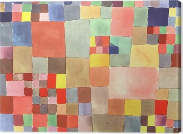 Canvas Paul Klee - Flora op zand - Reproducties