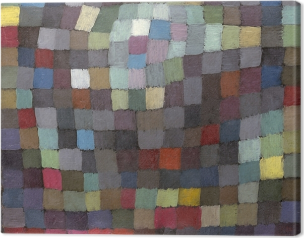 Canvas Paul Klee - Meibeeld - Reproducties