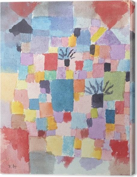 Canvas Paul Klee - Zuidelijke (Tunesische) tuinen - Reproducties