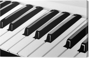 Canvas Piano toetsenbord