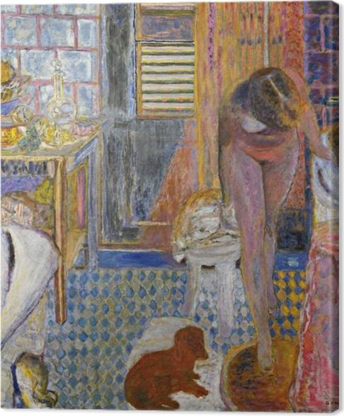 Canvas Pierre Bonnard - Koupelna - Reproductions