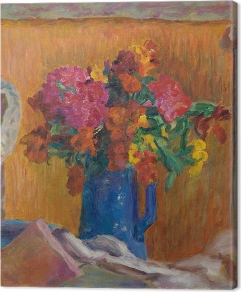 Canvas Pierre Bonnard - Modrý džbán - Reproductions