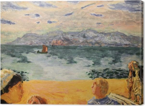 Canvas Pierre Bonnard - Paříž. L'Esterel - Reproductions