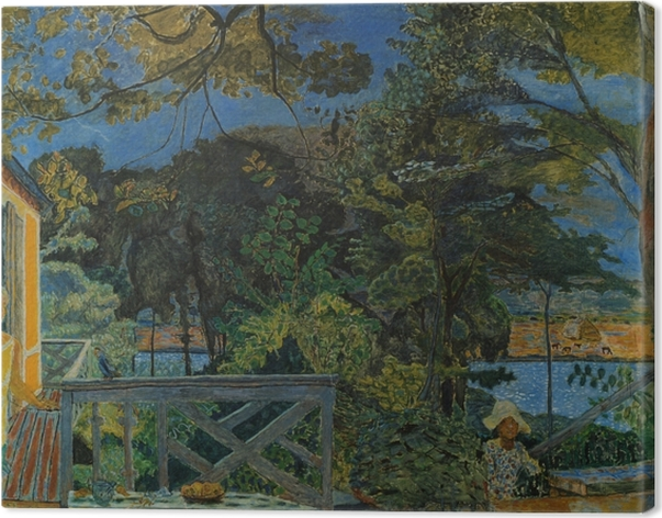 Canvas Pierre Bonnard - Terase ve Vermonu - Reproductions