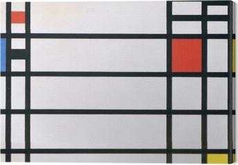 Canvas Piet Mondriaan - Trafalgar Square