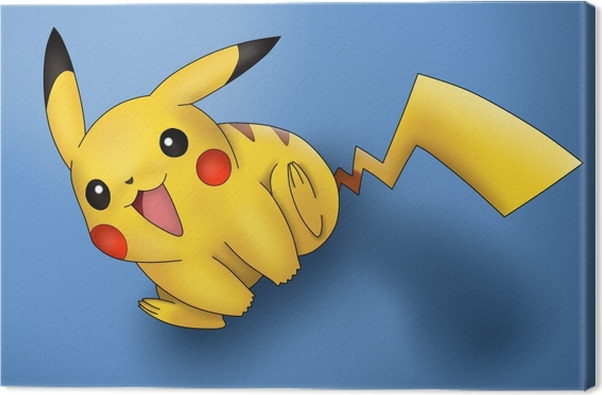 Canvas Pikachu - Thema's