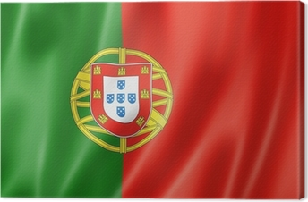 Canvas Portugese vlag