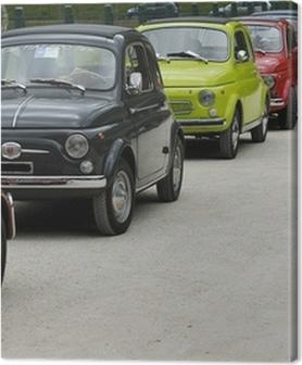 Canvas premium Fiat 500 Rally