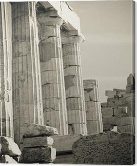 Canvas premium Griekse kolommen
