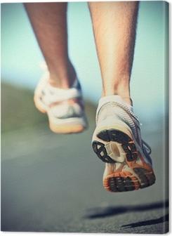 Canvas premium Runnning schoenen op runner