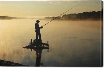 Рыбак Canvas Print
