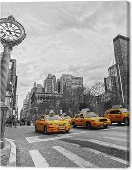 5th Avenue, New York City Canvas Print