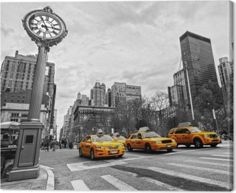 5th Avenue, New York City Canvas Print