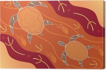 aboriginal art Canvas Print