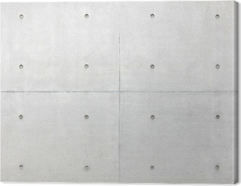 Abstract background, grey cement wall Canvas Print