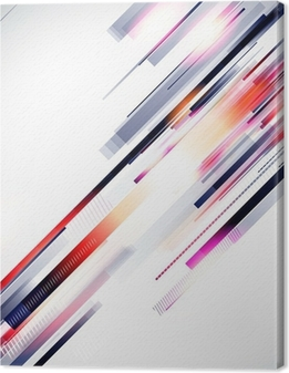 Abstract Background Vector Canvas Print