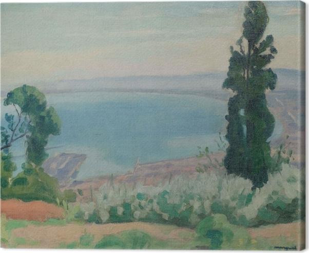 Albert Marquet - Algerian Gulf, View From El-Biar Canvas Print - Reproductions