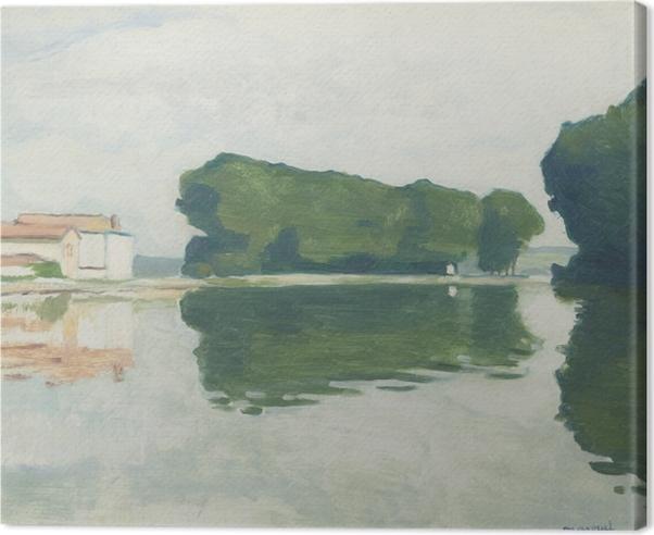 Albert Marquet - Poplars on the Island of Samois Canvas Print - Reproductions