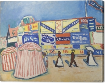 Albert Marquet - Posters in Trouville Canvas Print