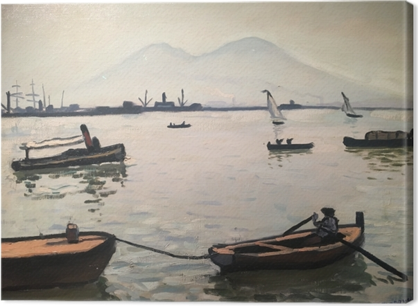 Albert Marquet - Vesuvius Canvas Print - Reproductions
